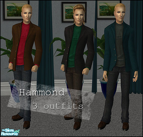 "Flinn""s Hammond - 3 outfits for men"