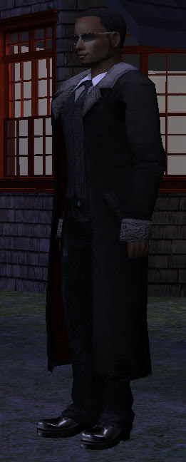Male Vampire Outerwear