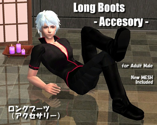 Long Boots for Gintoki Inner