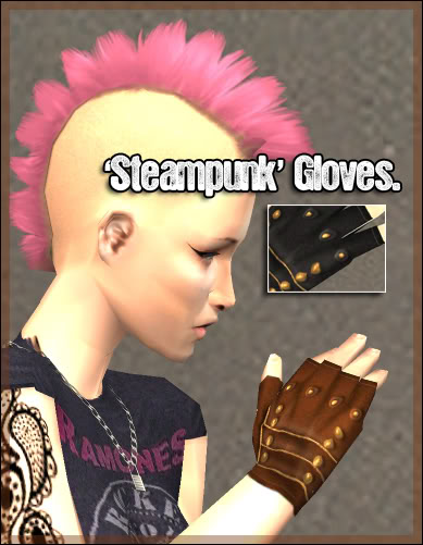 |Noora|Violent| Steampunk Gloves