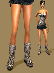 Metallic Boots (found under glasses) mesh by 2F0rU included