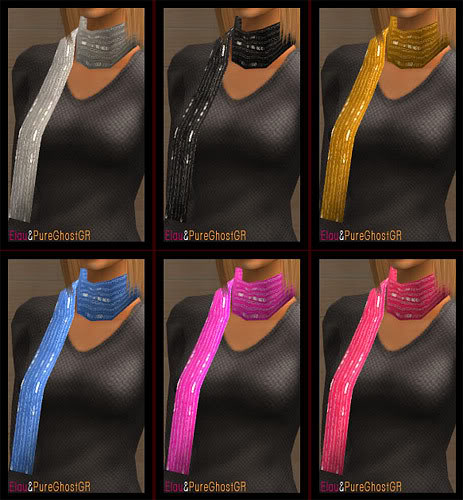 SIMply Scarfs (new mesh included)