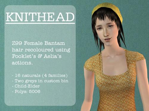 Knithead - Zanki99's Female Bantam Pookleted & Aelia'd