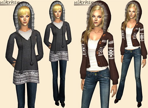 Liana Sims 2 Outerwear