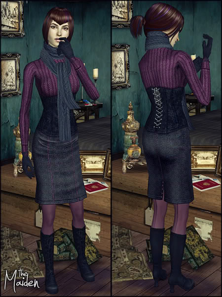 The Maiden: Outfit for Adult Female