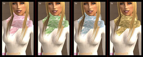 elau Rainbow Scarfs (new mesh included)