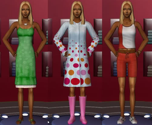 Maxis Preorder Conversion: Female Outerwear
