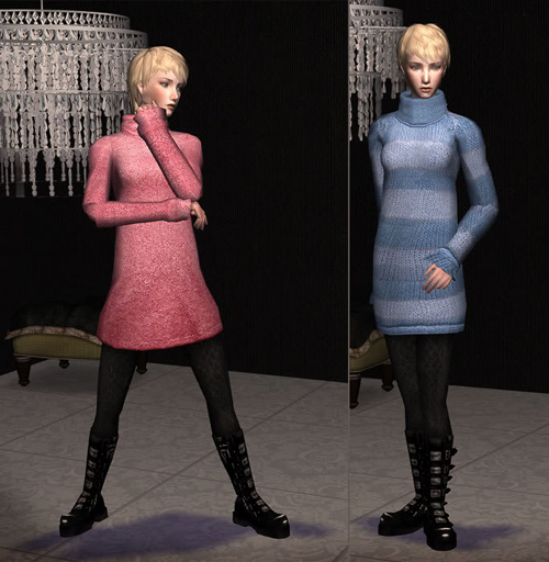 "Rustynail""s Sweater Dress mesh with Clompy Boots?"