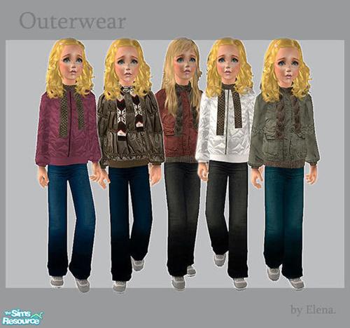 Elena.'s Outerwear