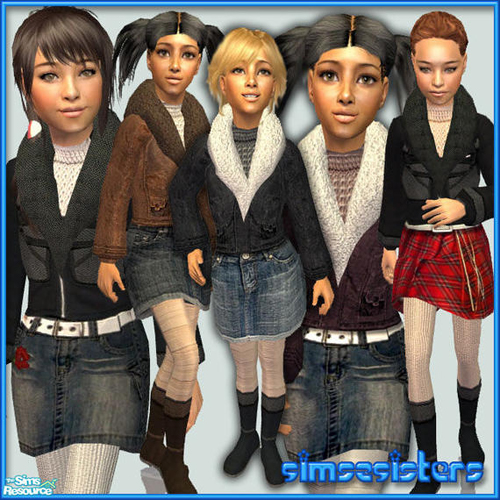 "sims2sister""s S2S colleciton No.19042008 ChF - Set"