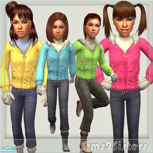 "sims2sister""s S2S Collection No. 181008 ChF - Set"