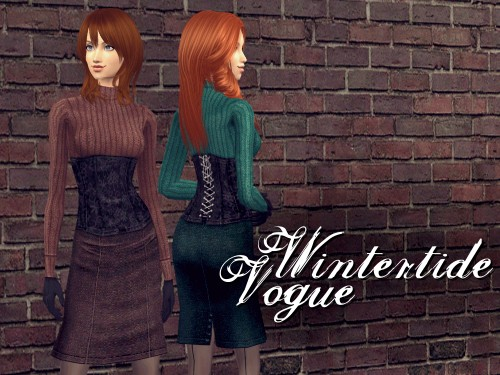 Javabean Creations: WINTERTIDE VOGUE