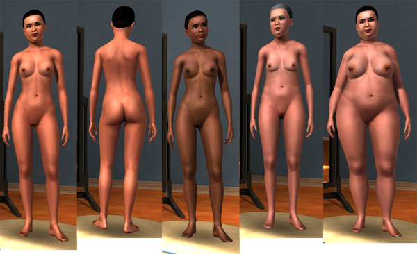 Nude Replacement Skin for Sims 3 (Now Downloadable)