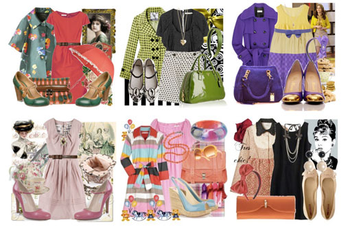 An insight into Polyvore: Katoulas A Small Preview Of Fall 2009.