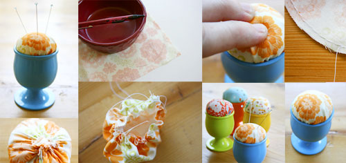 Adorable Egg Pincushion tutorial by Christina Lane, The Sometimes Crafter
