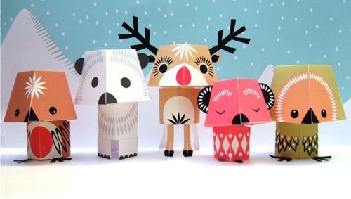 Mibo Studio Christmas Creatures